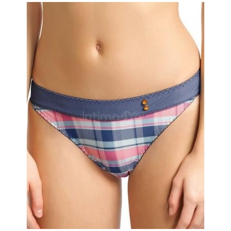 Figi Totally Tartan 1425 Denim