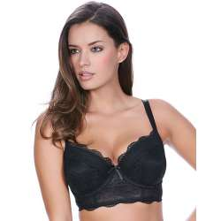Longline Fancies Black Freya